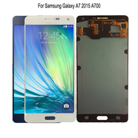 AMOLED For Samsung Galaxy A7 2015 LCD Display A700 A700F A700FD LCD Touch Screen Digitizer Replacement Parts With Free Tools
