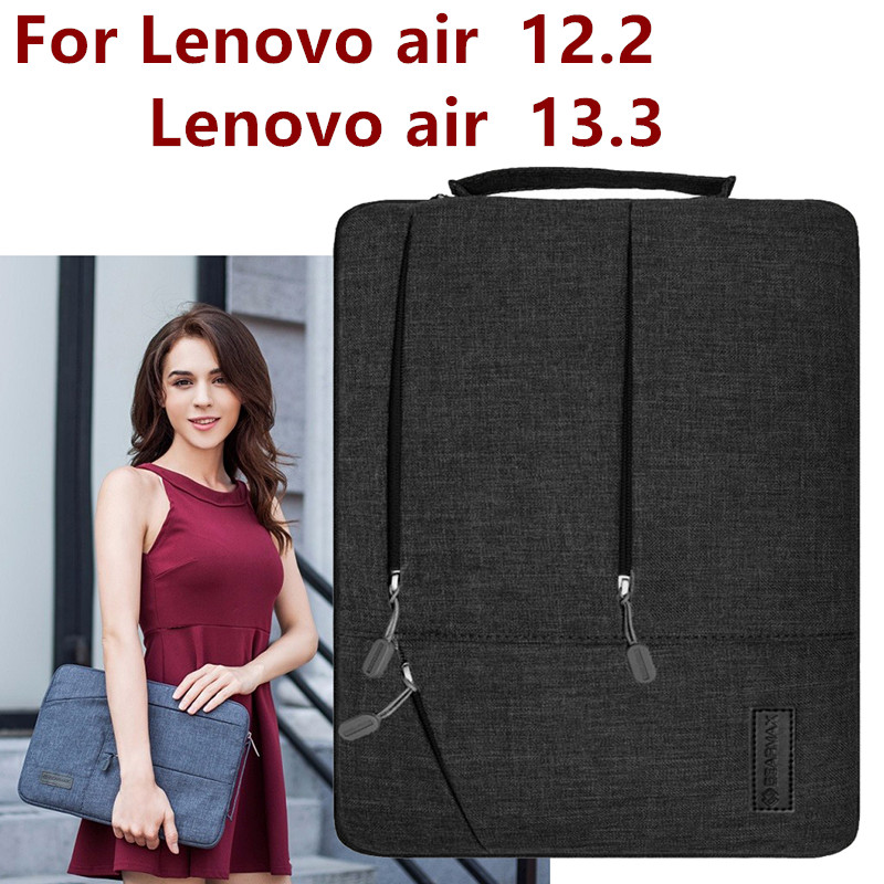 Hihaton laukku Lenovo Air 12,2 tuuman Tablet Laptop pussi Case Käsilaukku suojaava iho kattaa Lenovo Air 13 Air Pro 13.3 Lahja
