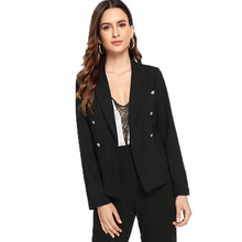Fashion Basic Jacket Blazer Female Blazers Slim Short Suit Women Casual Office Long Sleeve