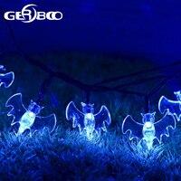 Waterproof 30 LED Bat Solar String Lights 2PCS LOT