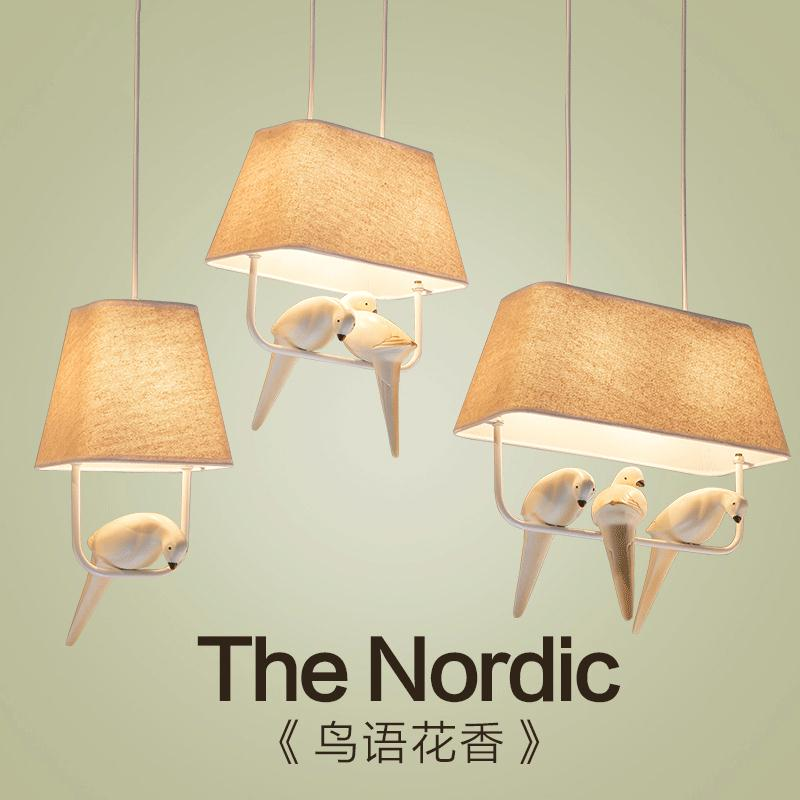 A1 European style Tieyi chandelier restaurant cloth shade resin bird lighting aisle porch corridor lamp three American head 2012 hot sell lighting tieyi gourd pendant light modern fashion tieyi mdp100601 18a free shipping