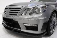 FRP Fiber Glass BBS Style Front Lip Fit For 2010 2012 Mercedes Benz W212 E63 AMG
