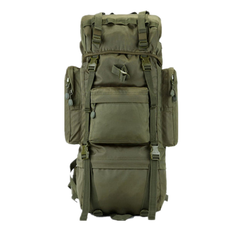 Tactical 65L 600D Nylon High Capacity Durable Canvas Army Backpack Bag Military Sports Shoulder Bag for Hiking Camping Travel sports travel airsoft tactical knapsack camping climbing backpack 600d nylon hiking hunting vintage military bag camouflage