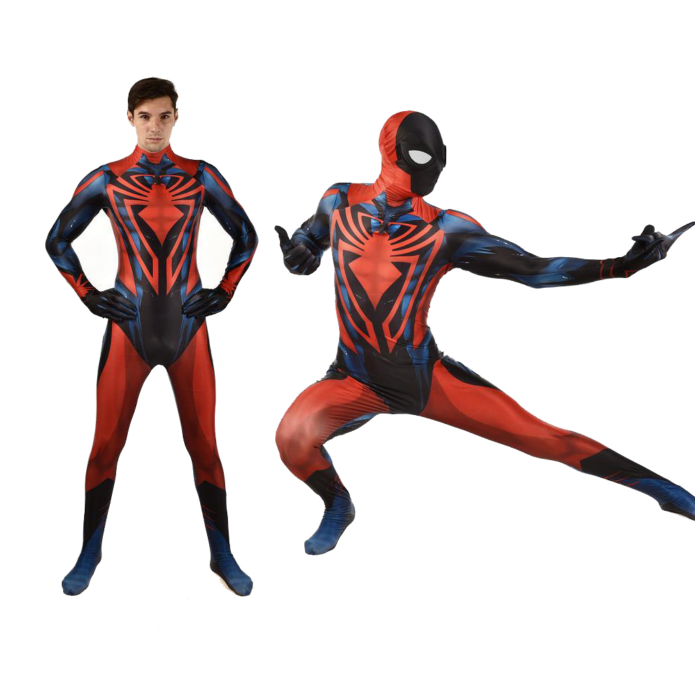 Adult Kids Spider-Man Unlimited Cosplay Costume Zentai Spiderman Superhero Men Event Bodysuit Suit Jumpsuits