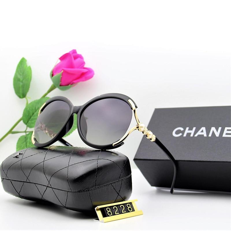 Police Brand Sun Glasses Female Polarized Sunglasses Large Ladies Half Frame Glasses Women's Brand Designer UV400 Goggles