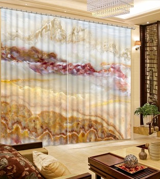 Modern Curtain For The Bedroom Bedroom Photo jade mountain Curtains For Living 3D Curtains For Window Decoration