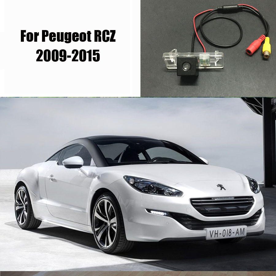 Peugeot Rcz 2009 2010 Alarm Wiring Diagrams Vehicle Diagram Thehotcakes Car Rear Camera For 20092015 Back Parking Hd 207