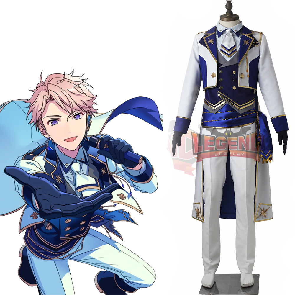 Ensemble Stars Arashi Narukami Holy Knight of Silver Bloomed adult costume 2017 custom made