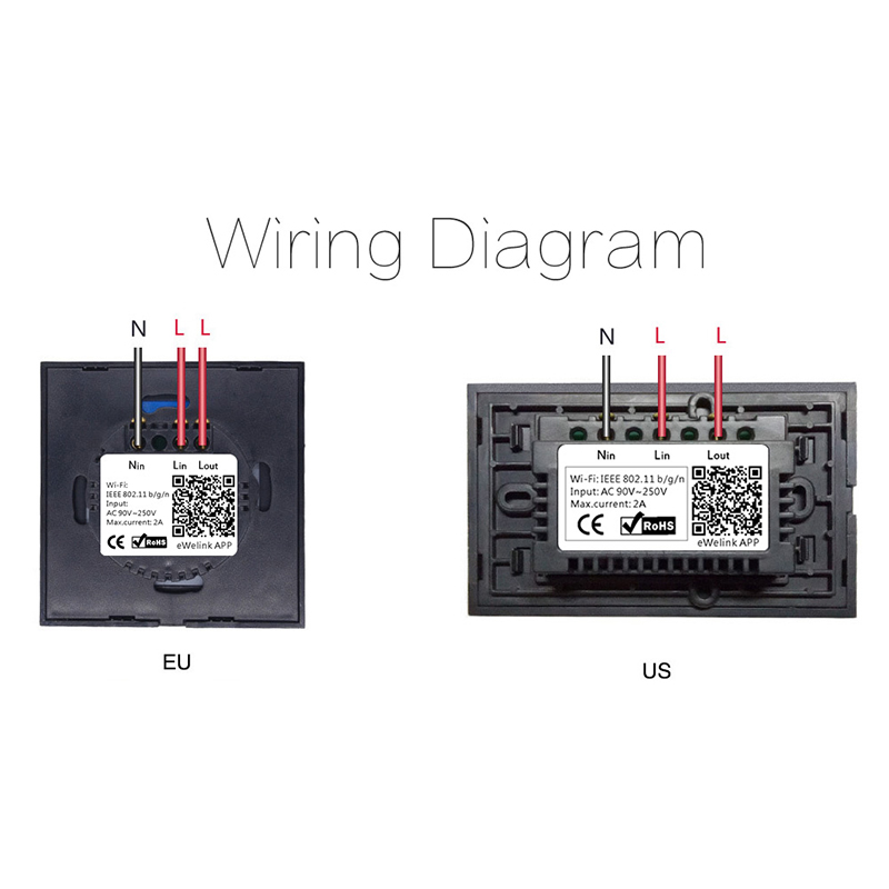 Sonoff Wifi Light Switch Wiring Diagram - Somurich com