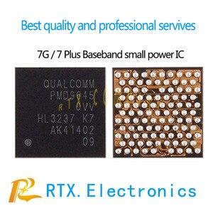 Image 1 - 10 pçs/lote pm ic pmd9645 para iphone7 7 mais reparo do telefone móvel bbpmu_rf baseband pequena potência ic chip de gerenciamento de energia original & novo
