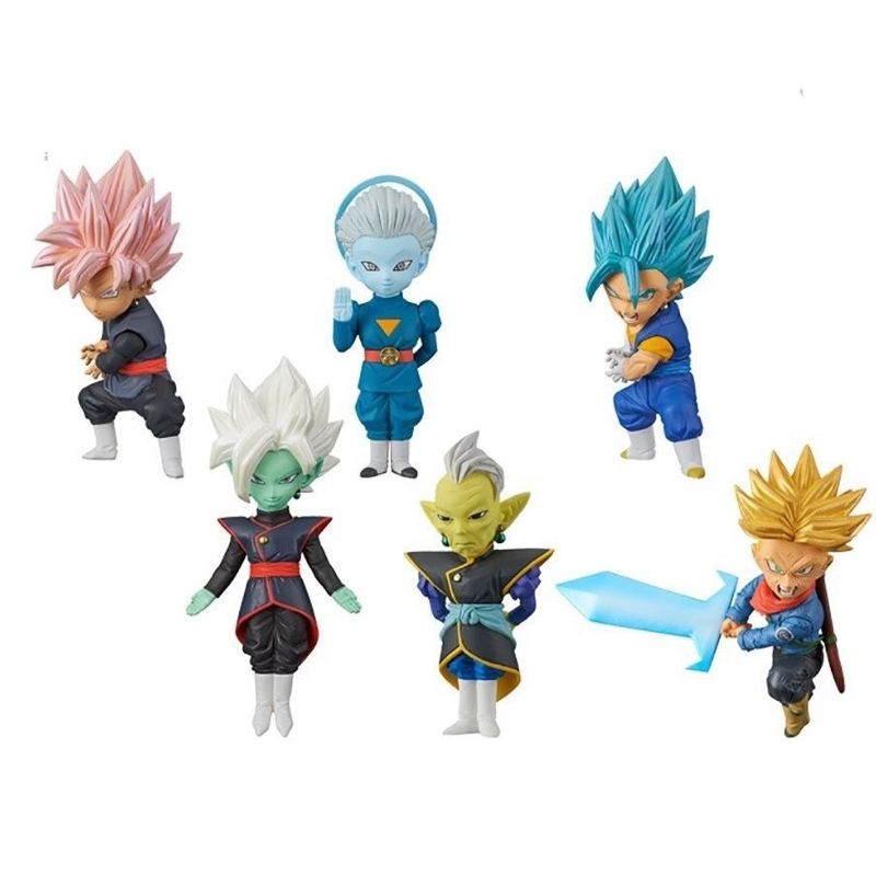 Dragon Ball Super Z WCF World Collectable Figure BATTLE OF SAIYANS Vol.7 Full Set 100% Original original banpresto world collectable figure wcf the historical characters vol 3 full set of 6 pieces from dragon ball z