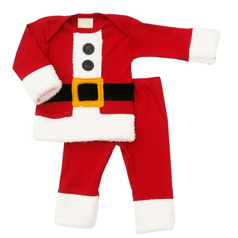 NewBorn Christmas Clothing Set Baby Boys and Girls Christmas Suit and Dress Santa Claus Costumes Newborn Infant Clothes
