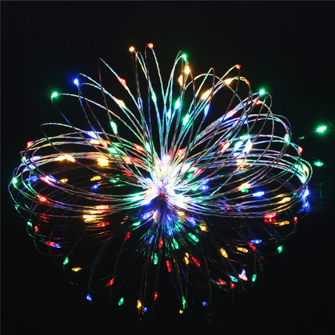 10M 20M 30M 40M 50M LED String Light Fairy DC12V Copper Wire For Party Christmas Wedding Holiday Decoration Garland Multan