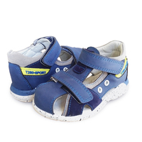 NEW 1pair Orthopedic Leather Children Sandals Boy Arch Support Shoes Super Quality Kids Summer Shoes