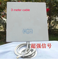 14dB 2.4GMHz Wireless WiFi WLAN Outdoor Panel Antenna with 3 meter cable 1pcs/lot
