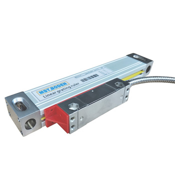 MSTBODEN milling machine digital display linear optical ruler glass grating ruler linear displacement sensor range 50-1000mm hxx high precision multifunction new dro set gcs900 2da and 2 pc linear glass scales 5u gcs898 50 1000mm for machines