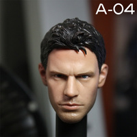 A04 Christensen Match Plain Body 1/6 Scale Head Sculpt Collectible Figures