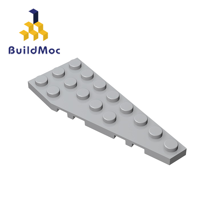 BuildMOC Compatible Assembles Particles 50304 3x8(Right) For Building Blocks Parts DIY LOGO Educational Gift Toys