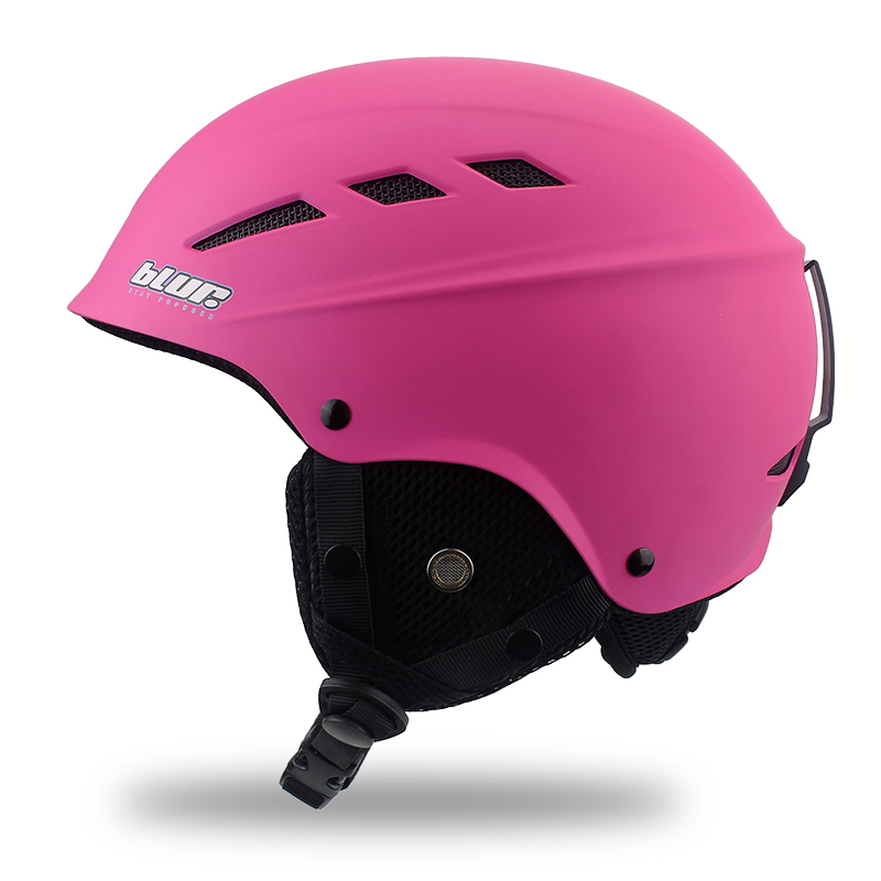 все цены на BLUR Ski Helmet For Adult Half-Covered Snowboard Helmet Sports Helmet Women Covers Safety Skate Light Skateboarding Helmet M онлайн