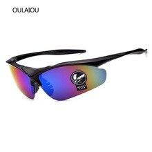Hombres Anti-UV400 gafas de Medio cuadro gafas de Sol de Las Mujeres Anti-deslumbramiento Reflectante Al Aire Libre Parkour espejo Viento Prevenir arena gafas de Sol gafas de sol