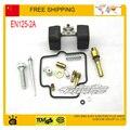 Mikuni carburador 125cc kits de reparación herramientas junta jet junta de la válvula de ralentí aguja para flotador tazón carbohidratos GN125 EN125 accesorios partes