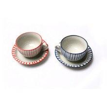2046 europäischen Handgefertigte Keramik Hause Kaffee Espresso Tasse Keramik Kaffeetasse Steinzeug Vintage Espresso Tee Tasse Paare Tasse