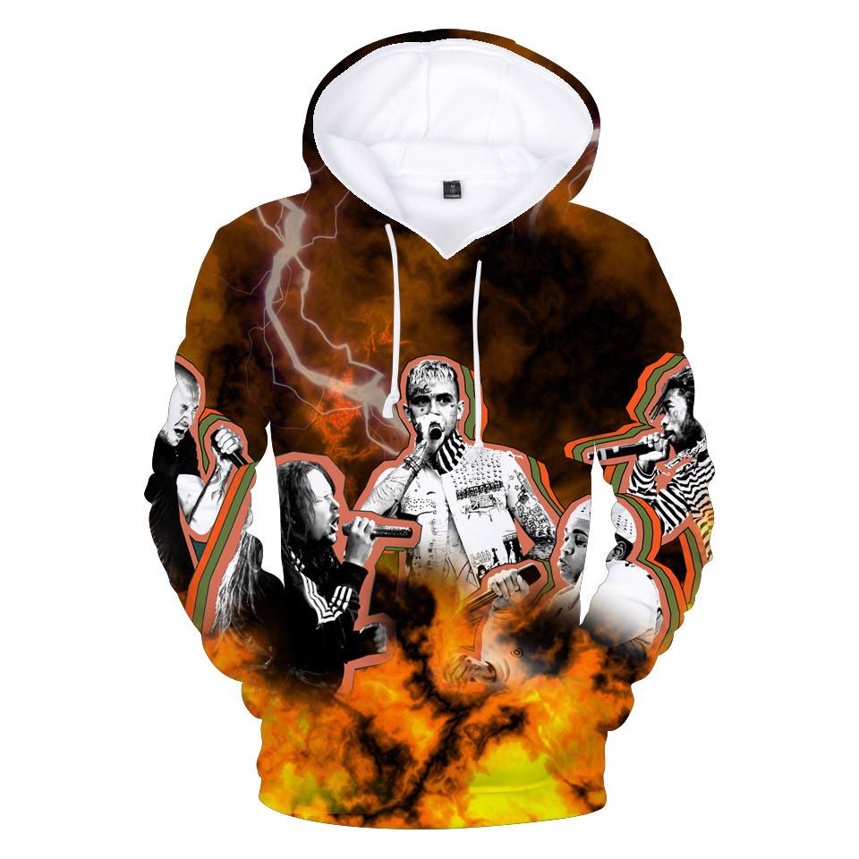 fe9347d948e1f R.I.P Lil Peep 3D Hoodie Women Men Hooded Jacket Male Streetwear Hip ...