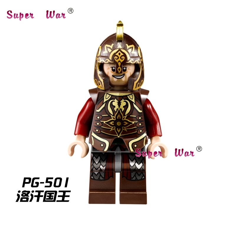 Single Sale star wars King Theoden Lord of the Rings LOTR building blocks action sets model