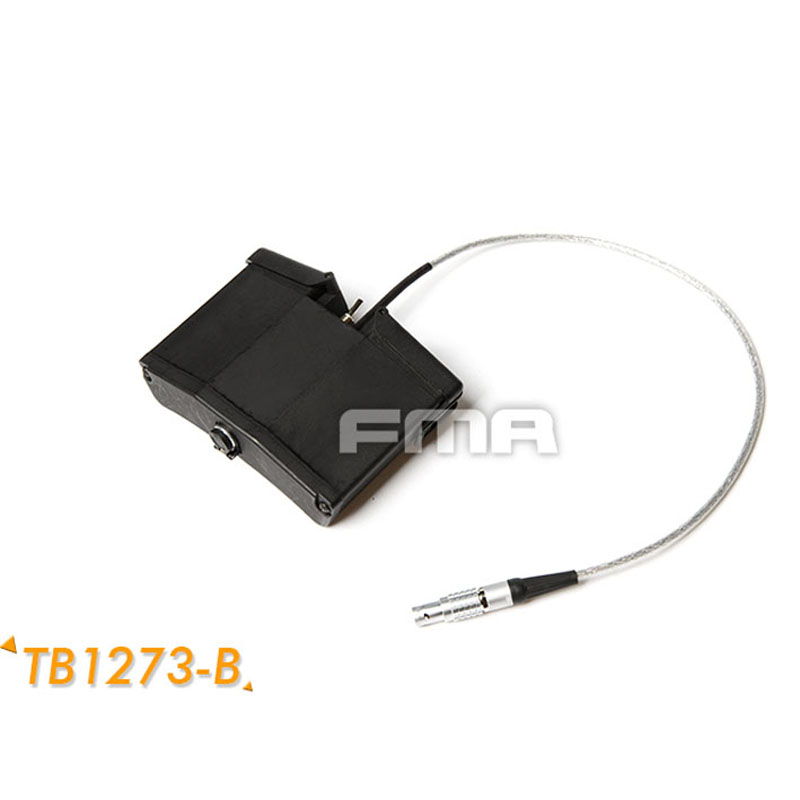FMA AVS-9 Battery Case With Function TB1273-B With Wire
