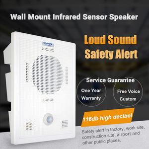 Image 3 - Big Power Motion Sensor Speaker with Bluetooth Wireless Voice Replacement Audio Recordable for Safety Voice Reminder Loud Sound