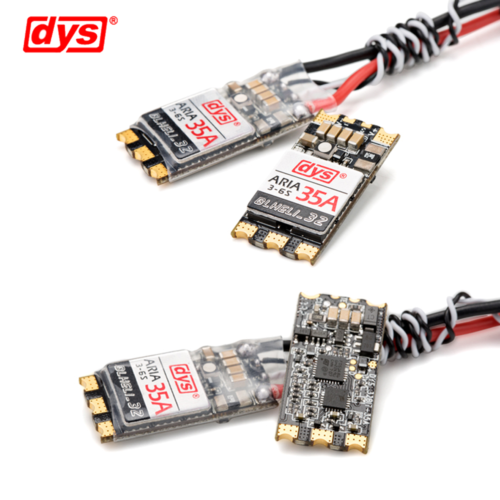 1pcs Original DYS Aria BLHeli_32bit 35A Brushless ESC 3-6S Dshot1200 Ready Built-in Current Meter Sensor1pcs Original DYS Aria BLHeli_32bit 35A Brushless ESC 3-6S Dshot1200 Ready Built-in Current Meter Sensor