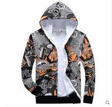 Europäischen und Amerikanischen hip-hop graffiti Hoodies druck personalisierte kapuzen langärmeligen männer hoodies