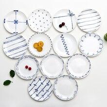 В продаже форма для выпечки блюдо для десерта, завтрака пластина Керамика Суповая тарелка стейк блюдо детская посуда фарфоровая посуда тарелка