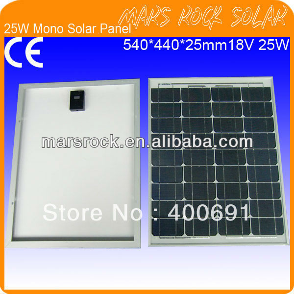 25W 18V Monocrystalline Silicon Solar Panel Module радиоприемник 25 hifi 25w