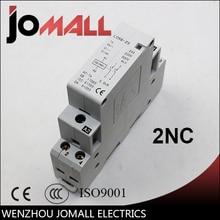 Super quality excellent 2P  20/16A 220V/230V 50/60HZ din rail household ac contactor 2NC