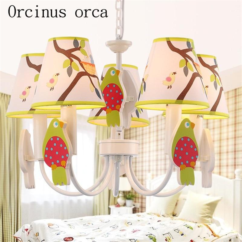 Lights & Lighting Dependable Mediterranean Round Led Ceiling Lamp Male Girl Bedroom Lamp Originality Warmth Modern Simple Childrens Room Lamp