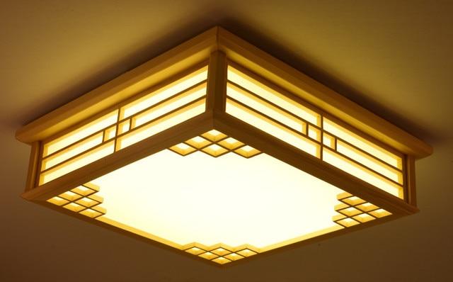 Lamp Woonkamer Plafond : Dimbare japanse plafond verlichting binnenverlichting led