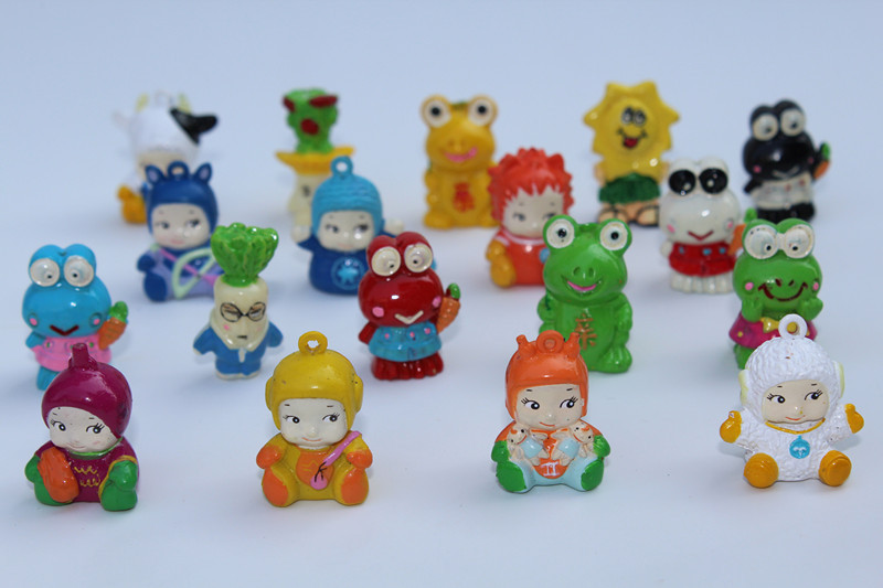 Dolls Capsule Puppets for Child Gifts Hot-Sale 100pcs/Lot Frog Very Lovely