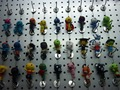 2016 Wholesale New Style Voodoo Doll Keychains little voodoo dolls Free Shipping