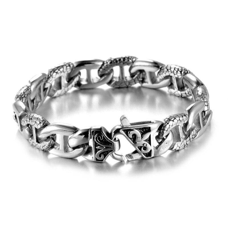 Fashion jewelry bracelet,Mens titanium steel bracelet, personalized decorative bracelet fashion accessories
