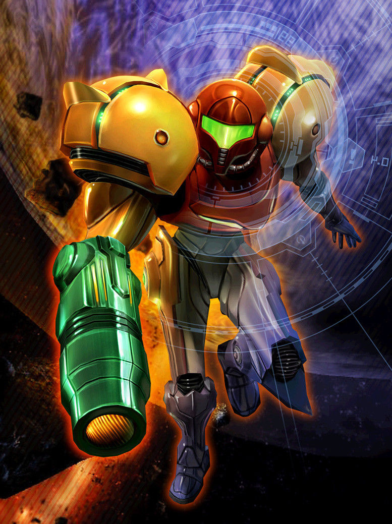 Home Decor Metroid Prime Game 12-Silk Art Poster Wall Sticker Decoration Gift image