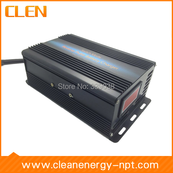 60V 5A Smart GEL/AGM/ Lead Acid Battery Charger, Car battery charger, Auto pulse desulfation charger цены