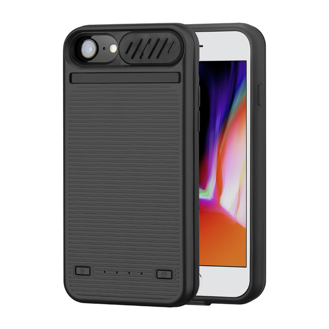quality design dfb72 a5b09 Portable Speaker Rechargeable Battery Case For iPhone 6 7 8 External  Battery Charger Case For iPhone 6 Plus 7 Plus 8 Plus case
