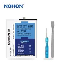 Original NOHON Battery For Meizu BT41 MX4 Pro High Capacity 3250mAh~3350mAh Retail Package