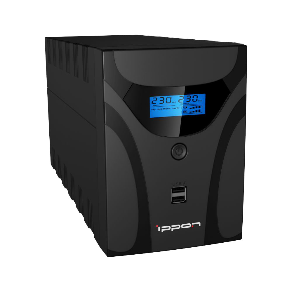Uninterruptible Power Supply Ippon Smart Power Pro II Euro 1200 Home Improvement Electrical Equipment & Supplies (UPS)