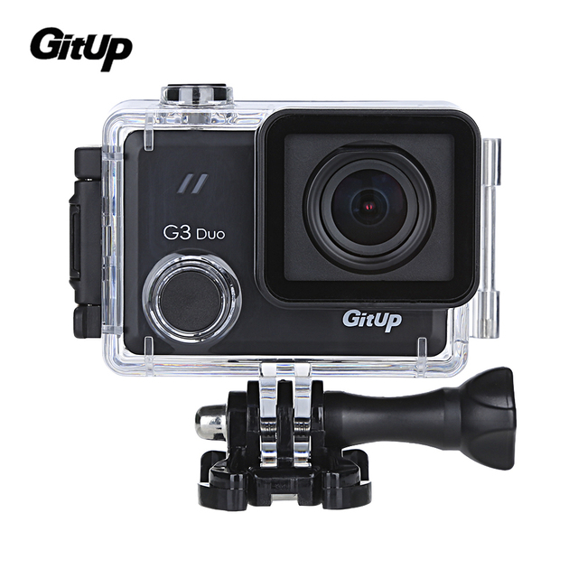 """In Stock Gitup Original G3 Duo 2K 12MP 2160P Sport Action Camera 2.0"""" Touch LCD Screen GYRO 170 degree GPS Slave Camera Optional"""