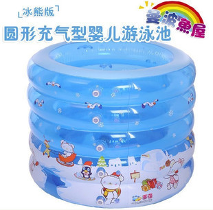 1 pic childrens pools pool swimming pool inflatable pools for adults Swimming rubber ring pencil case school inflatable TXY34