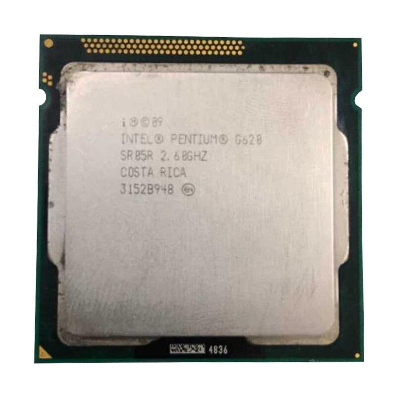 Intel  Pentium G620 CPU 3M/2.60 GHz LGA 1155 TDP 65W H61 B75 81 Motherboard Have A Pentium Dual Core G2030 2120 2130 Cpu Sale