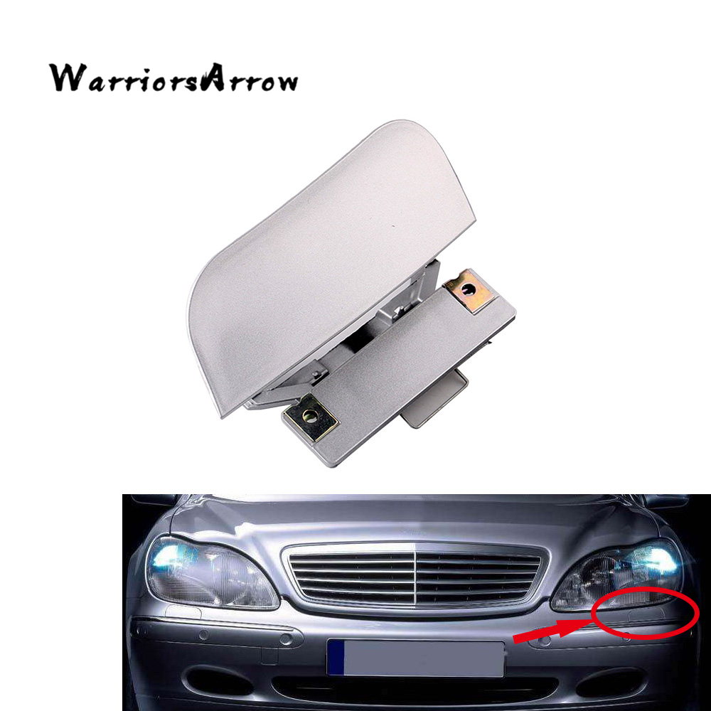 warriorsarrow front bumper headlight washer nozzle cover cap random color left for mercedes benz w220 s430 s500 s600 2208800305 in bumpers from automobiles  [ 1000 x 1000 Pixel ]