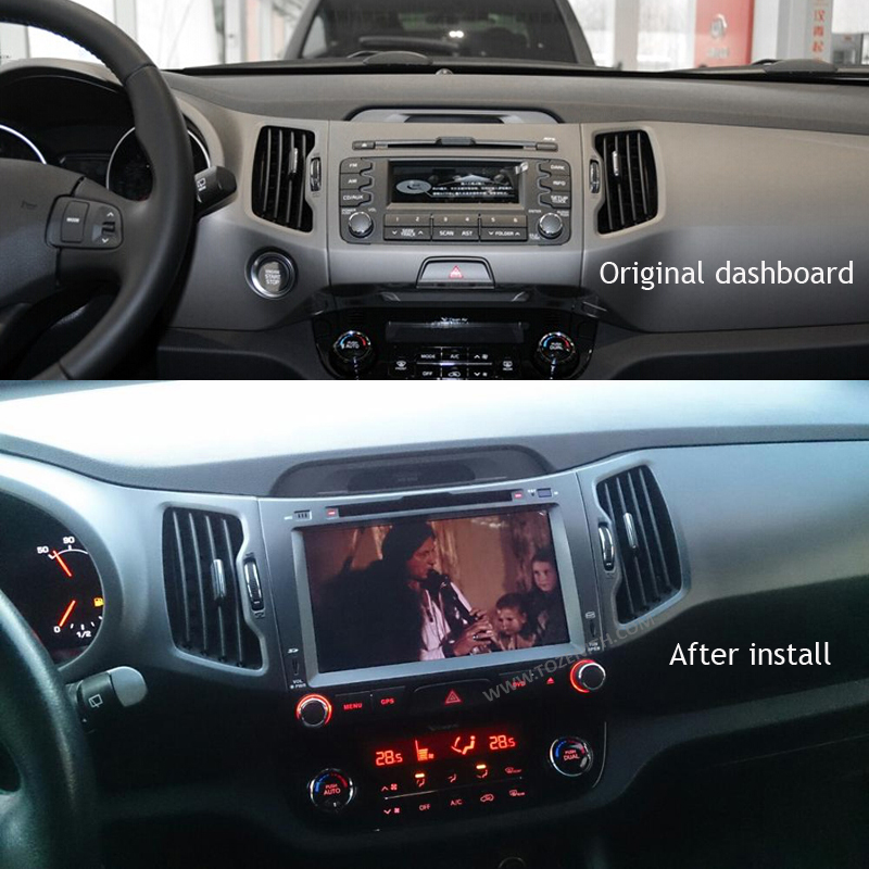 SilverStrong Car Multimedia IPS Android 9.0 for KIA Sportage3 Car DVD Radio Navigation 2din DVD Sportager GPS Navigation wifi-in Car Multimedia Player from Automobiles & Motorcycles    2